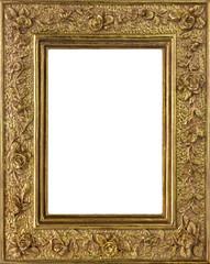 Bilderrahmen - gold