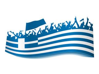 2014 Gruppen Schild - Griechenland