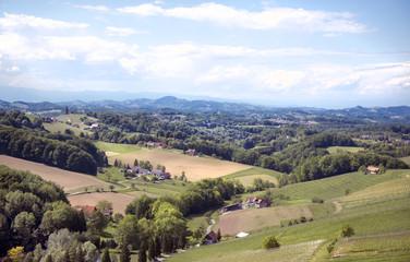 Blick auf die Südsteiermark