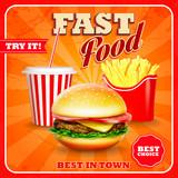 Fototapety fast food