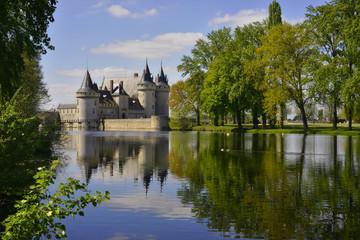 chateau de Sully-sur-Loire narcissique