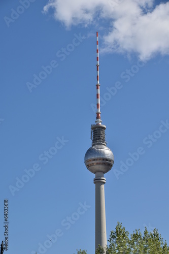 canvas print picture Der  Funkturm in Berlin