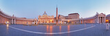 Panoramic view of Vatican city, Rome.