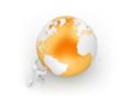 Man roll globe