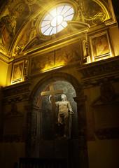 Statue of St. Helen, Basilica Santa Croce in Gerusalemme, Rome,