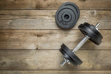 iron dumbbell