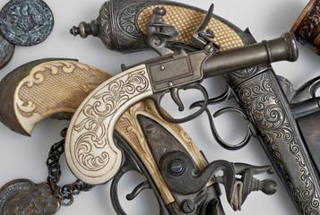 ancient pistols