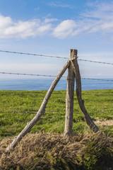 Single fence pole 6
