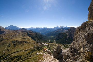 Falzaregopass und Marmolata - Dolomiten - Alpen