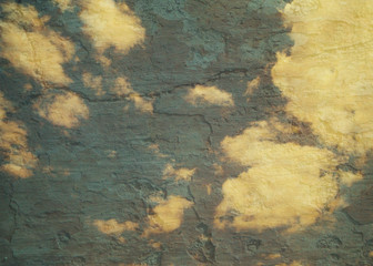 Vintage sky background, texture with the base of the sky.