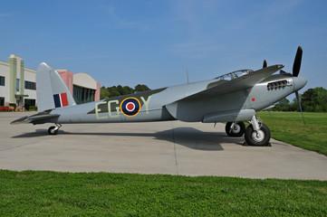 British WWII bomber