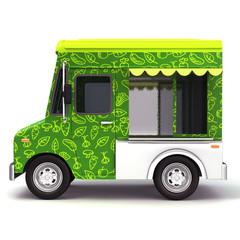 Food truck organic side