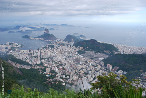 Birds Eye View of Rio de Janeiro Bird's Eye View to Rio de