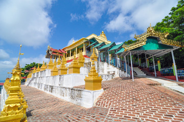 U Min Thonze Cave - A greatly revered Buddhist temple, Sagaing,