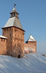 У стен Новгородского детинца. Великий Новгород