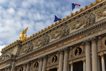 Paris Opera Garnier partial view
