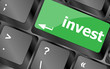 Hot key for investment - invest key on keyboard