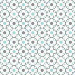 Traditional Quatrefoil Lattice Pattern