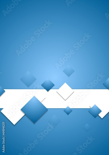 Abstract corporate tech vector background