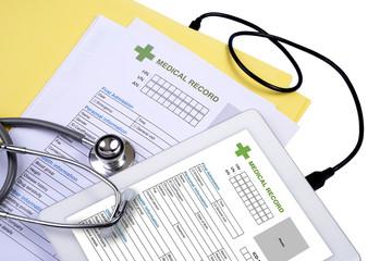 e-health data link.