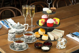 Champagne Afternoon Tea with Scones, Sandwhiches and Cakes