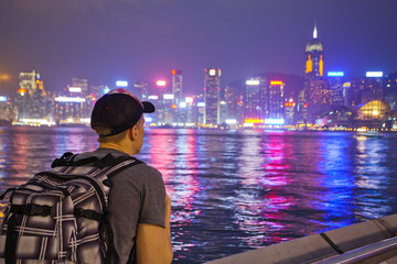 Travelling in Hong Kong