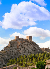 Sax Castle, Alicante Province, Spain