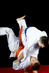 Training nage judo in the performance of an athlete