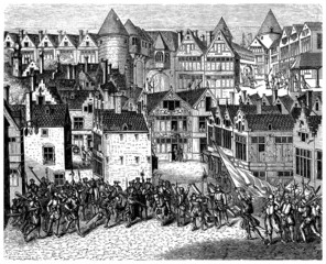 Soldiers : Invading a Town - 16th century