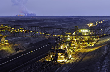 Tagebau bei Jänschwalde