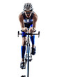 man triathlon iron man athlete cyclists bicycling - 64856851