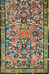 tile panel in the Khan Medrese