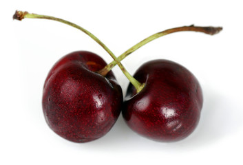Duo of cherries