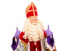 Leinwanddruck Bild - Happy Sinterklaas on white background