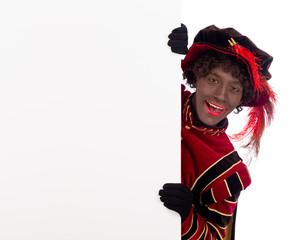 Zwarte Piet ,Sinterklaas (black pete)