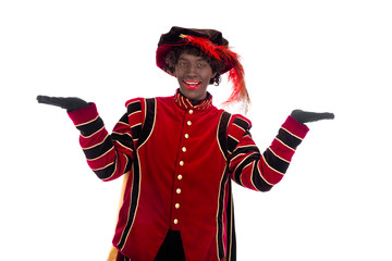 Black Pete showing object
