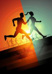 Running team
