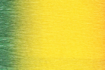 Green and yellow background.