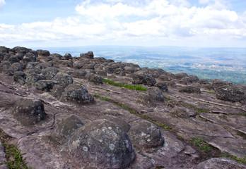 Laan Hin Pum Viewpoint at Phu Hin Rong Kla National Park, Phitsa
