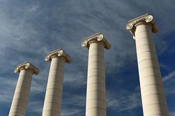 Vier Säulen, Barcelona