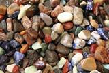 natural color gems background poster