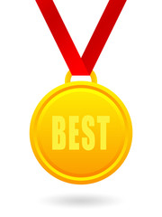 Best golden medal