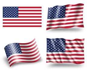 America flag US flag