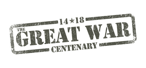 The Great War Centenary - inkpad