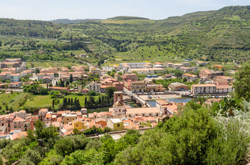 Sardegna, Bosa, uno dei borghi più belli d'Italia