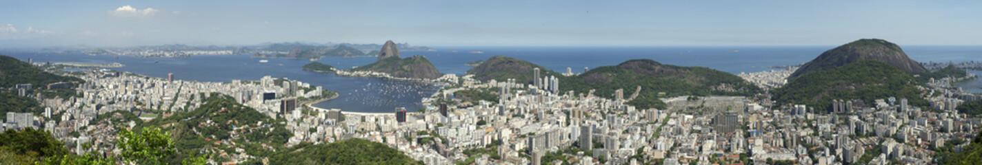 Rio de Janeiro Brazil Skyline Panorama