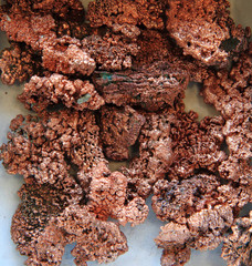 natural copper minerals