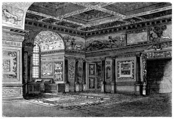 Castle : Interior - Style Renaissance