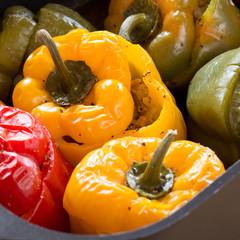 leckere gefüllte paprika
