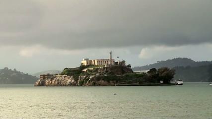 Alcatraz Island Federal Penitentiary.